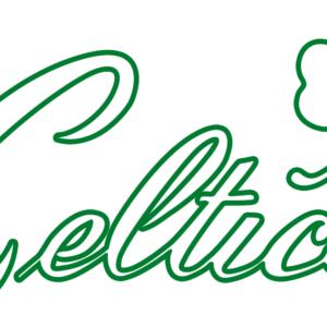 NBA Boston Celtics 1946 Pres Alternate Logo Patch