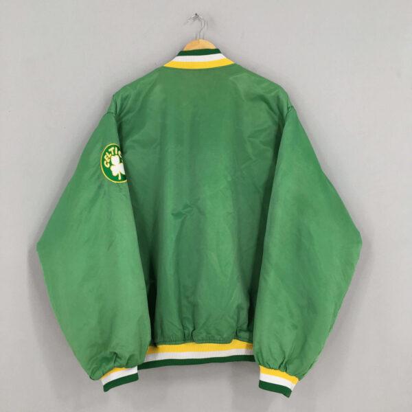 NBA Boston Celtics Bomber Satin Jacket