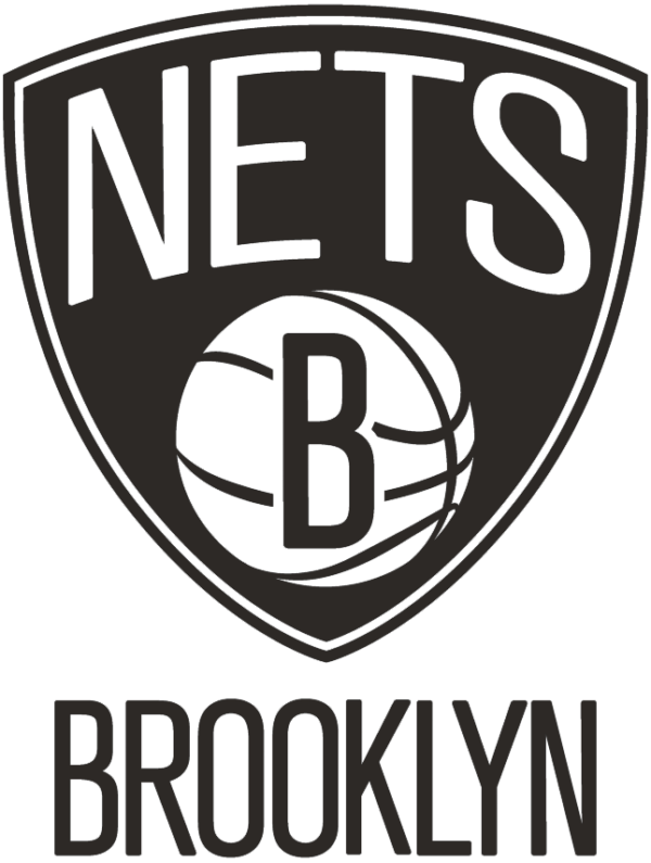 NBA Brooklyn Nets 2012 Pres Primary Logo Patch