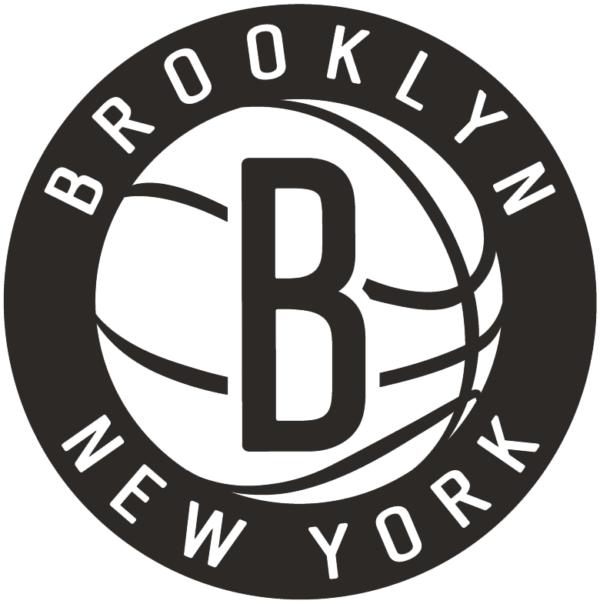 NBA Brooklyn Nets 2012 Pres Secondary Logo Patch