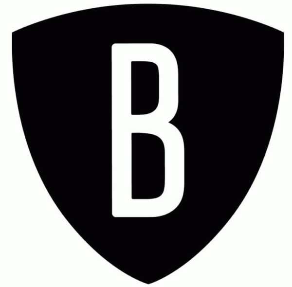 NBA Brooklyn Nets Alternate Logo V2 Patch