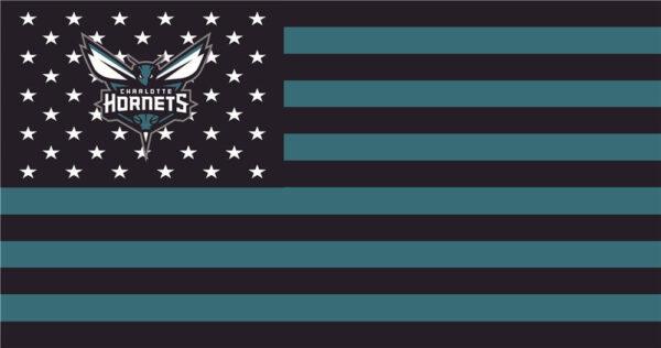 NBA Charlotte Hornets Flag Patch