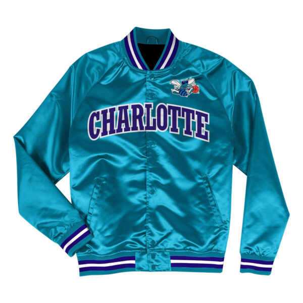 NBA Charlotte Hornets Team Lightweight Satin Jacket