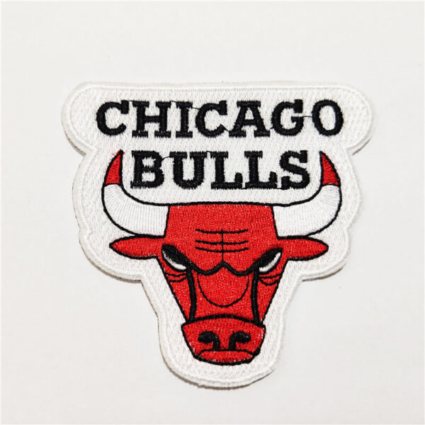 NBA Chicago Bulls Logo Embroidery Patch