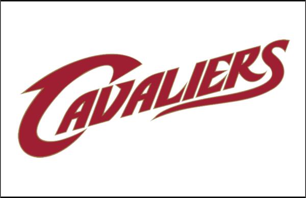 NBA Cleveland Cavaliers Wordmark Logo Patch