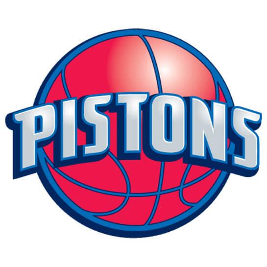 NBA Detroit Pistons Alternate Logo Patch