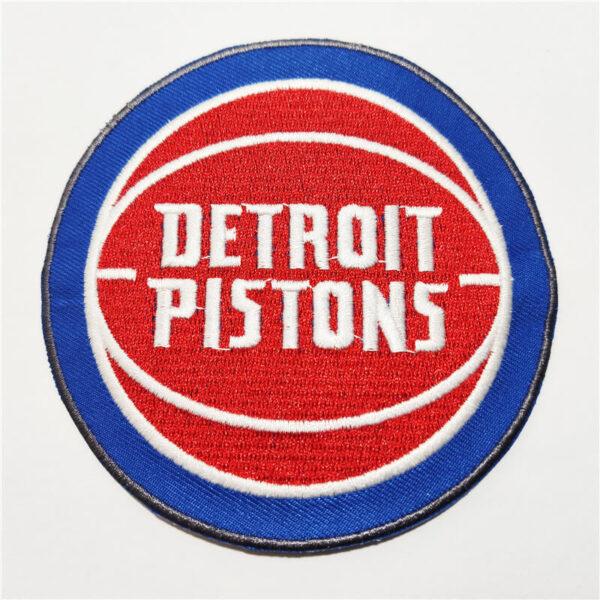 NBA Detroit Pistons Logo Embroidery Patch