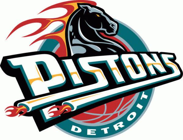 NBA Detroit Pistons Primary Logo Patch