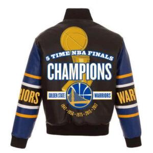 NBA Finals Champions Golden State Warriors Jacket