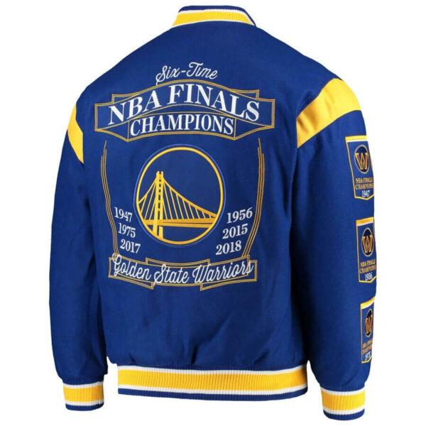 NBA Golden State Warriors Championship Jacket