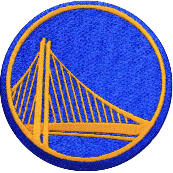 NBA Golden State Warriors Iron On Patch