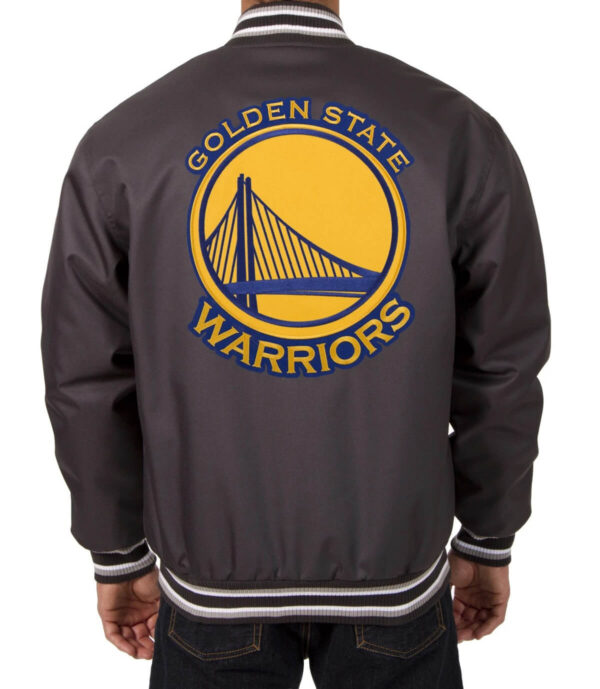 NBA Golden State Warriors Poly Twill Jacket