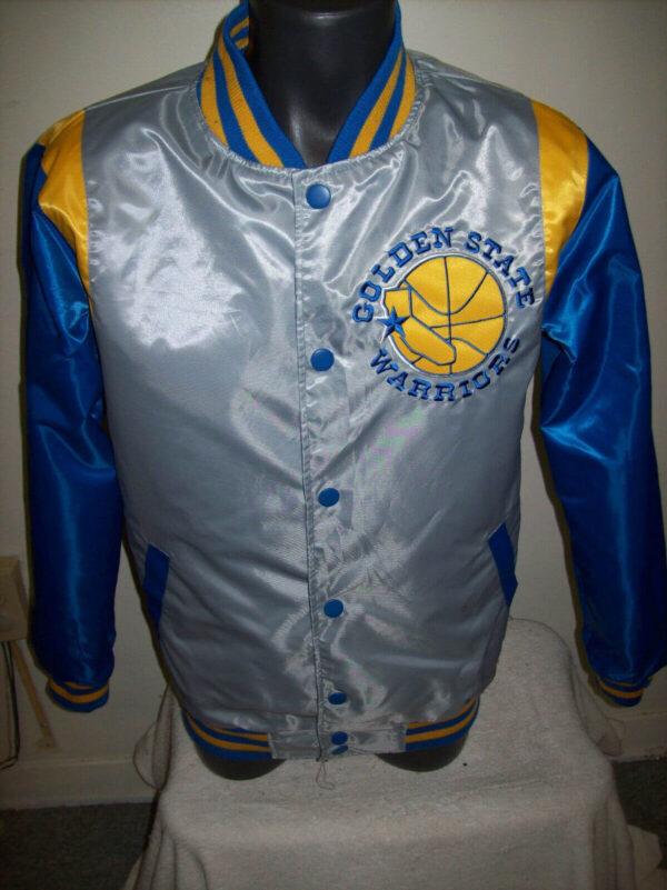 NBA Golden State Warriors Reversible Satin Jacket