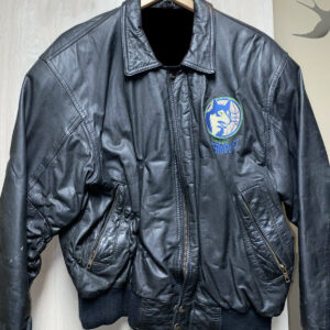 NBA Minnesota Timberwolves Black Leather Jacket