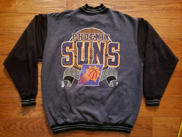 NBA Phoenix Suns Varsity Snap Jacket