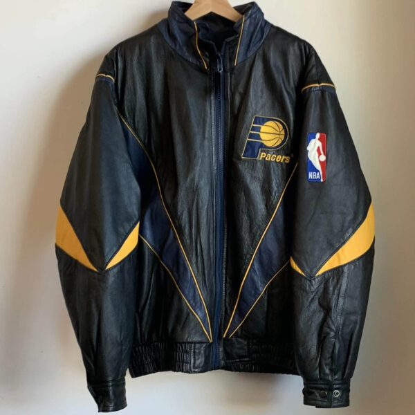 NBA Pro Player Indiana Pacers Leather Jacket