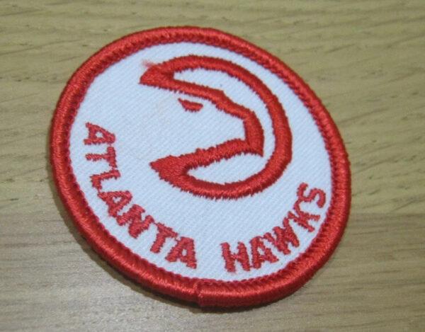 NBA Round Atlanta Hawks Primary Team Logo Patch