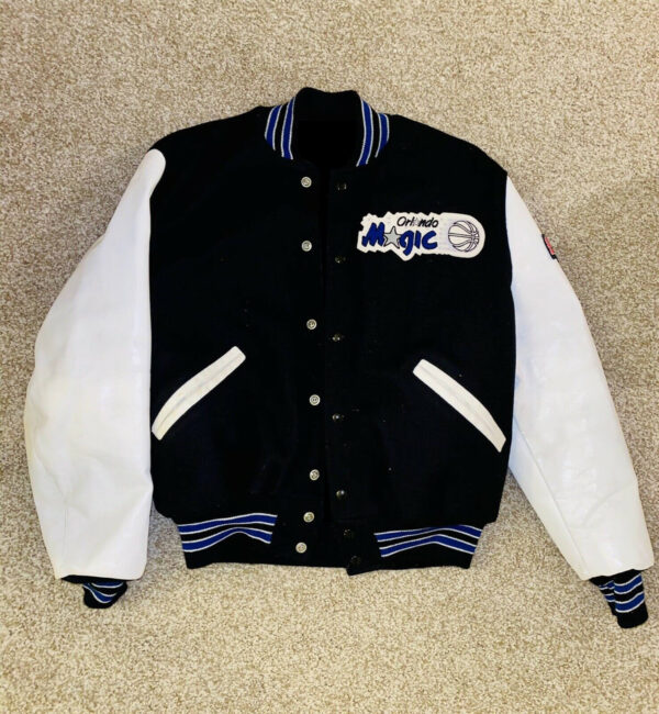NBA Vintage Orlando Magic Wool Leather Jacket