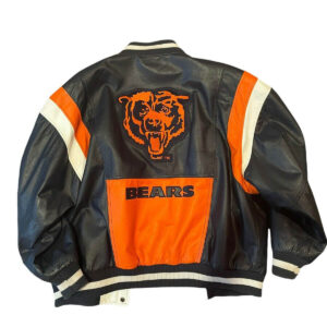 NFL Chicago Bears G III Carl Banks Leather Jacket