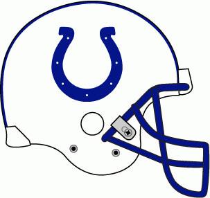 NFL Indianapolis Colts Helmet Logo Patch