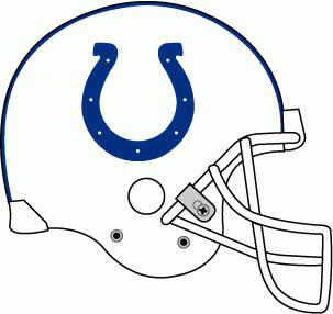 NFL Indianapolis Colts Team Helmet Logo Patch