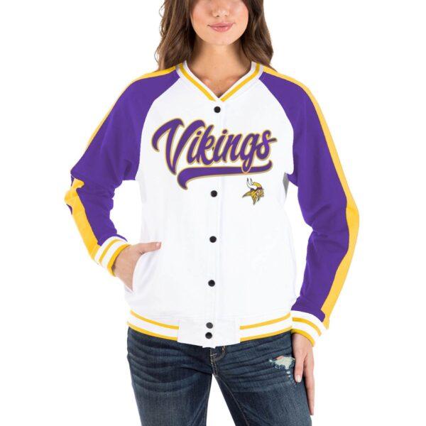 NFL Jeff Hamilton Minnesota Vikings Cotton Jacket