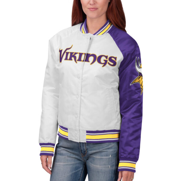 NFL Jeff Hamilton Minnesota Vikings Satin Jacket