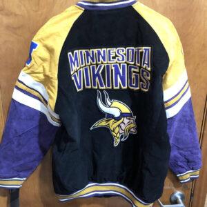 NFL Minnesota Vikings Multicolor Wool Jacket