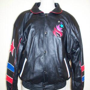 Olympics Games USA 1996 Leather Souvenir Jacket