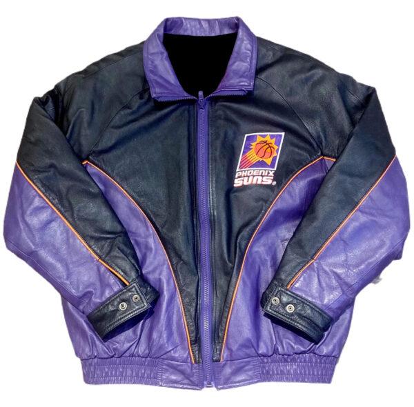 Phoenix Suns NBA Pro Player Leather Jacket