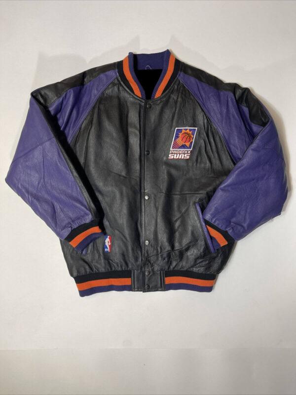 Phoenix Suns Pro Player NBA Basketball Leather Jacket