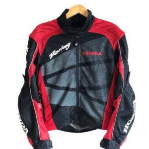 Red Black Honda Motorcycle Textile Jacket