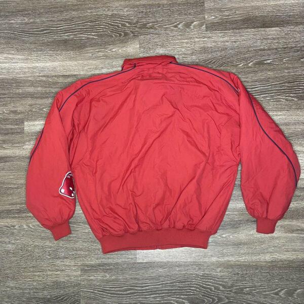 Red Vintage MLB Boston Red Sox Jacket