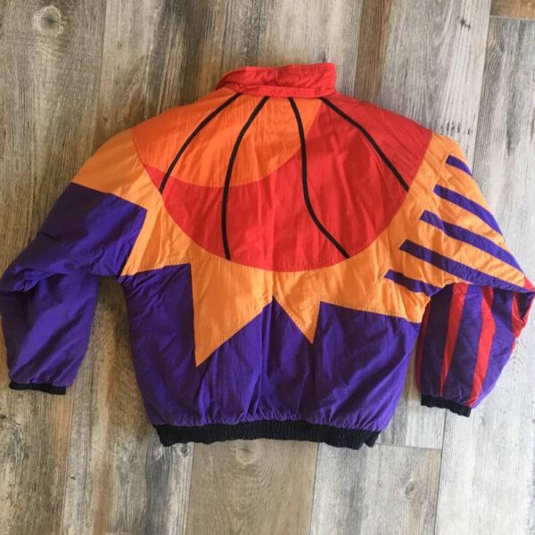 Retro NBA Phoenix Suns Multi Jacket
