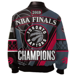 Toronto Raptors NBA Finals Champions Leather Jacket