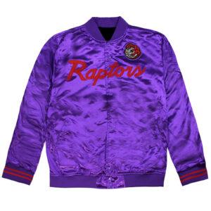 Toronto Raptors Special Script Lightweight Satin Jacket