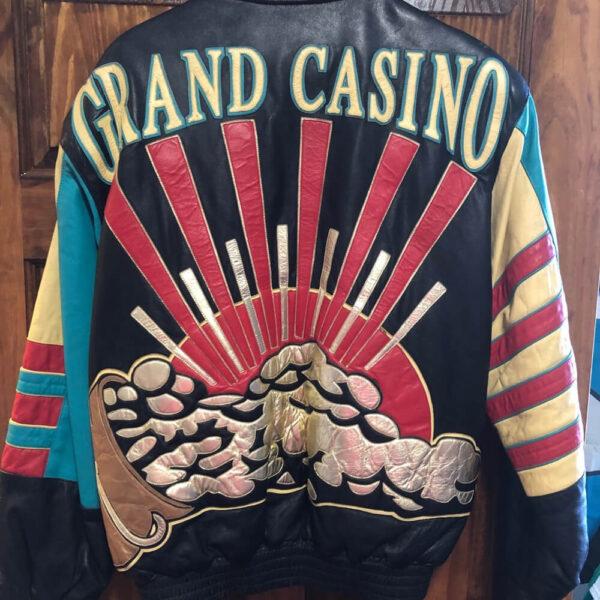 Vintage Grand Casino Leather Jacket