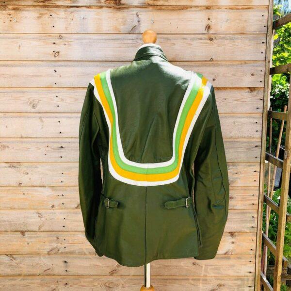 Vintage Honda Motorcycle Racing Leather Jacket