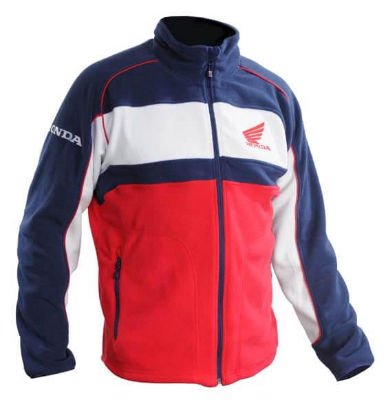 Vintage Honda Red And Blue Mesh Jacket