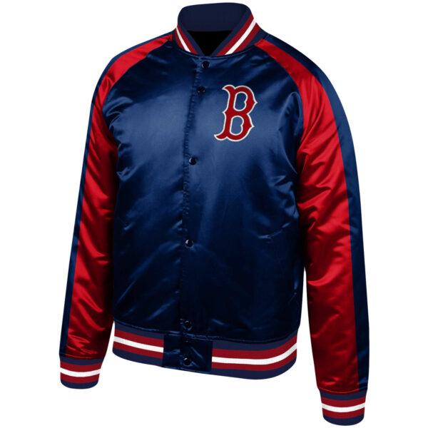 Vintage MLB Boston Red Sox Color Blocked Jacket