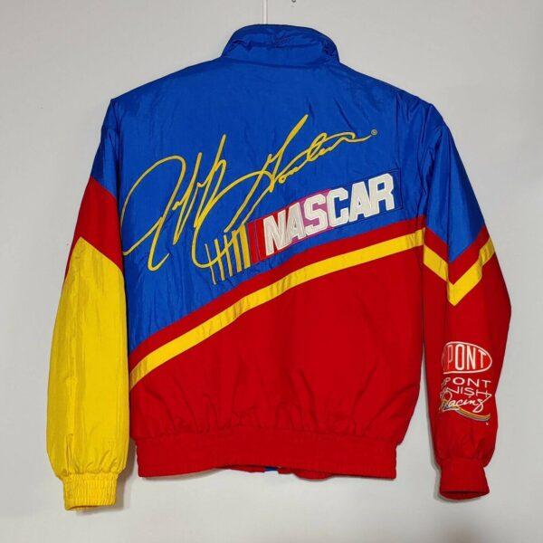 Vintage NASCAR 24 Jeff Gordon DuPont Racing Jacket