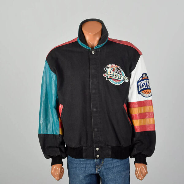 Vintage NBA Jeff Hamilton 1990s Pistons Detroit Jacket