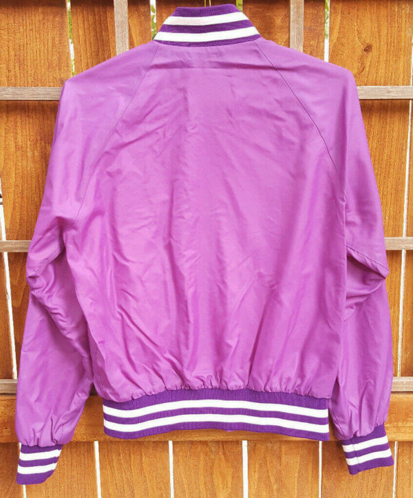 Vintage NFL Jeff Hamilton Minnesota Vikings Satin Jacket