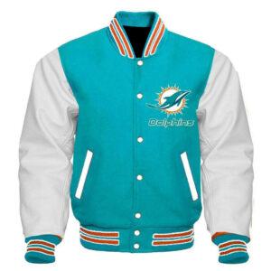 Vintage NFL Miami Dolphins Varsity Jacket
