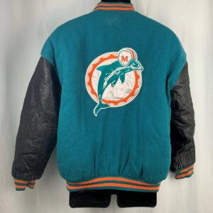 Vintage Pro Line Miami Dolphins NFL Varsity Jacket