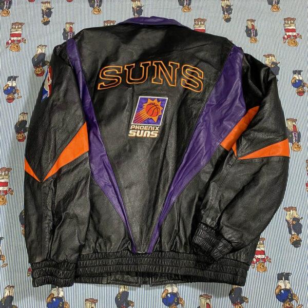 Vintage Pro Player Phoenix Suns Leather Jacket