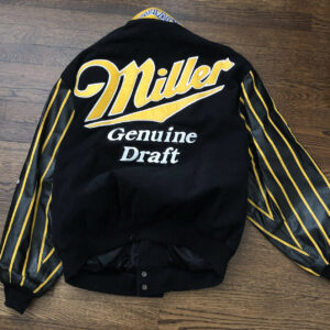 Vintage Rusty Wallace Miller Genuine Draft Racing Jacket