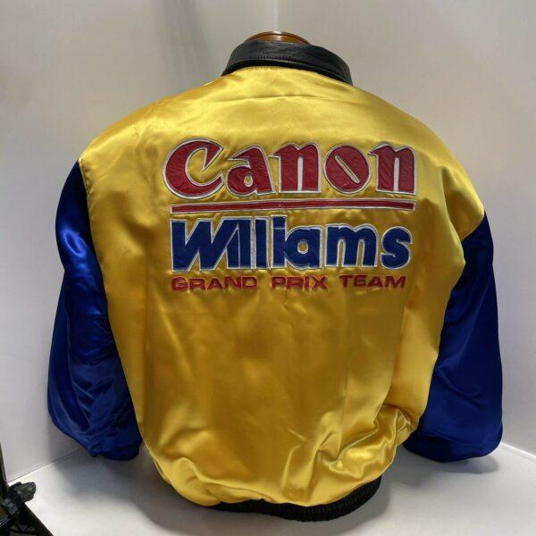 Williams Renault Canon Jeff Hamilton Reversible Jacket