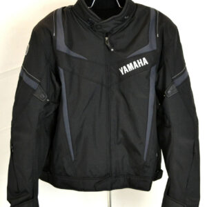 Yamaha Black Motorcycle Racing Textile Jacket