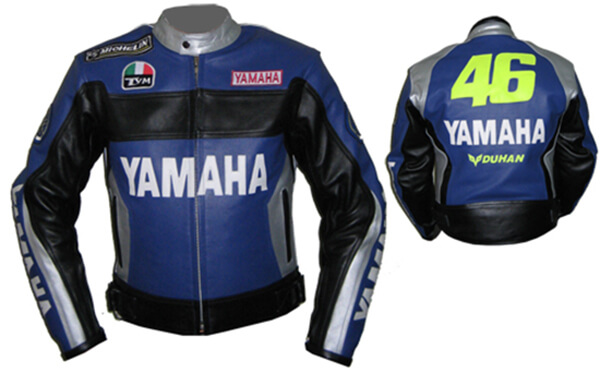 Yamaha Duhan 46 Motorcycle Racing Leather Jacket